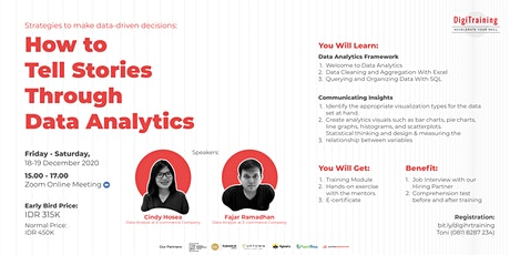 [PAID] How to Tell Stories through Data Analytics tickets
