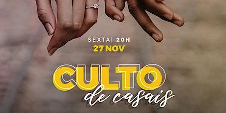 CULTO DE CASAIS  BOLA DE NEVE -  BH ingressos