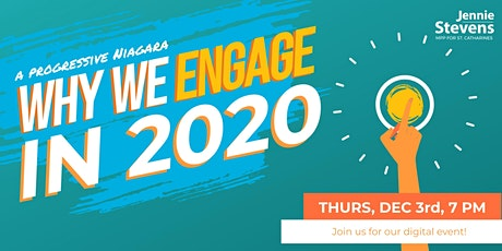 Niagara Progressives: Why We Engage in 2020 tickets