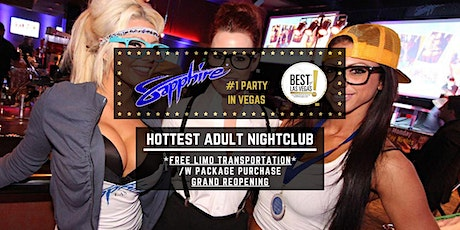 Sapphire Bikini Bar & Nightclub (FREE LIMO) - #1 Party in Las Vegas, NV tickets