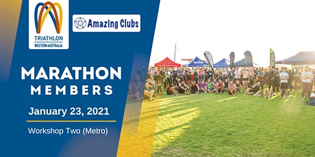Marathon Members presented by SunSmart - Workshop Two (Metro) tickets