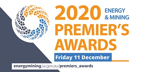 Premier's Awards in Energy and Mining 2020 - Awards Ceremony tickets