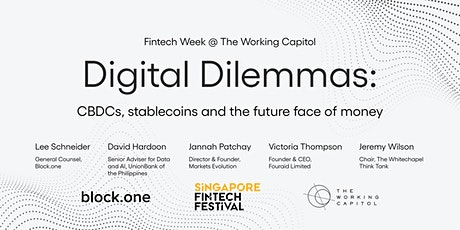 Digital Dilemmas: CBDCs, stablecoins and the future face of money tickets
