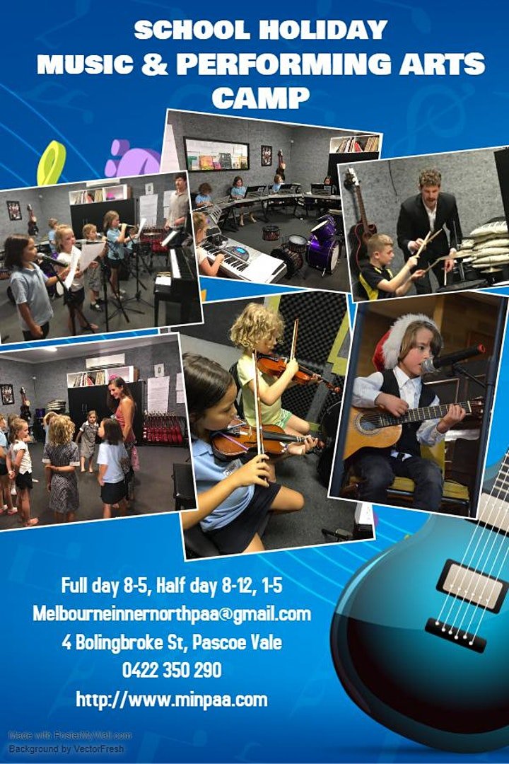 Easter Holidays Performing Arts, Music & Technology Camp image