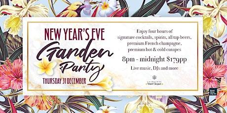 New Years Eve Garden Party   The Sound Garden tickets