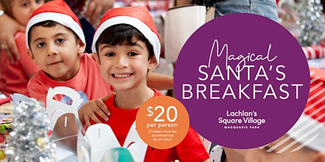 You're invited to a magical breakfast with Santa at the Village! tickets