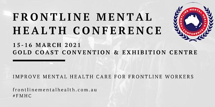 2021 Frontline Mental Health Conference image