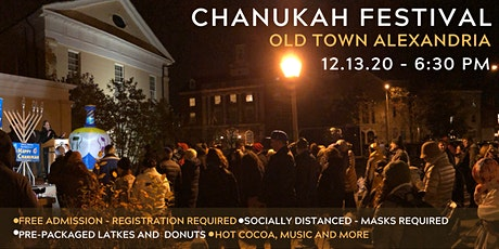 Chnaukah Festival - Old Town Alexandria tickets