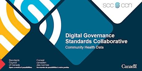 Consultation on Community Health Data standards tickets