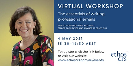 The essentials of writing emails – May tickets