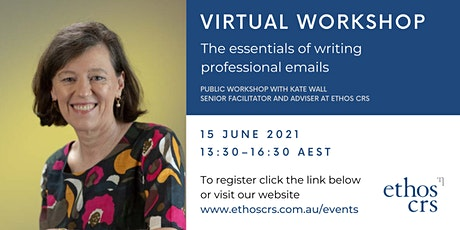 The essentials of writing emails  – June tickets