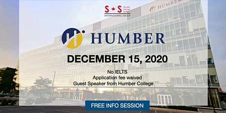 Study at Humber College located in Toronto Ontario Canada tickets