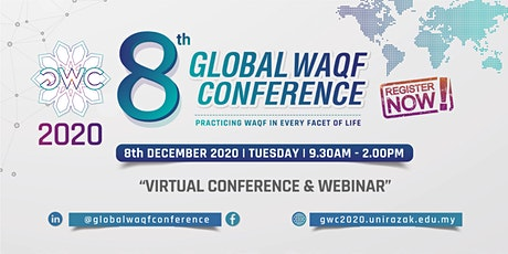 8th Global Waqf Conference - Virtual Conference & Webinar tickets