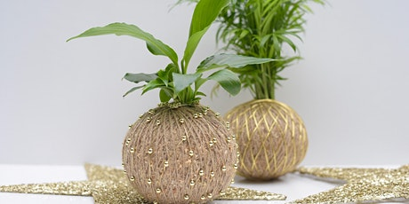 Christmas Kokedama Workshop tickets