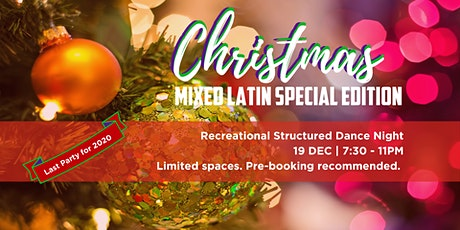 Christmas Edition Mixed Latin Dance Night tickets