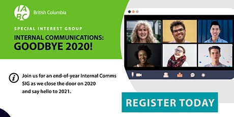 Internal Communications SIG: Goodbye 2020! tickets