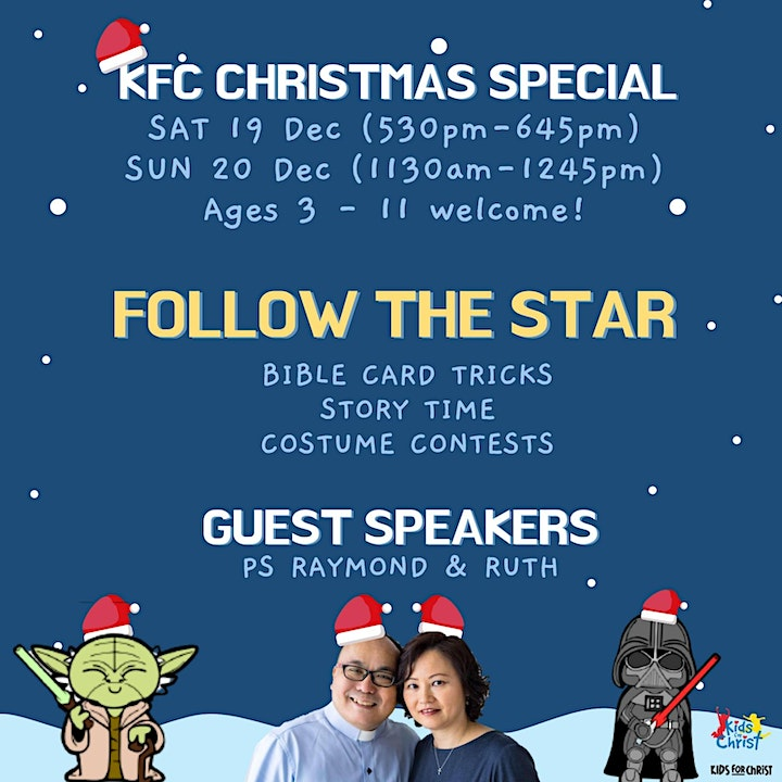 English Service / KFC Christmas Special - Saturday, 19 Dec 2020 (Weekend A) image