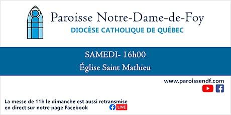 Messe Église Saint-Mathieu - Samedi - 16h billets