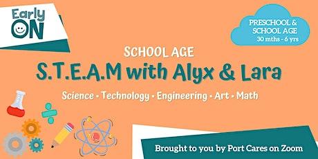 School Age S.T.E.A.M. with Alyx & Lara tickets