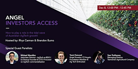 How to play a role in the tidal wave of Australian AgTech growth! tickets