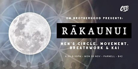 BRO - Men's Wellbeing #5 - RĀKAUNUI tickets