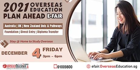2021 Overseas Education PLAN AHEAD e-FAIR