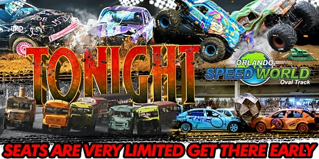 NIGHT OF DESTRUCTION - ORLANDO SPEEDWORLD tickets