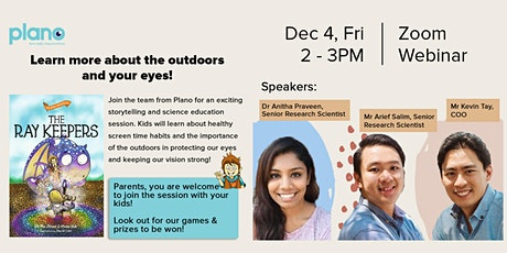Edutainment Zoom S3:  Storytelling & Eye Education (SEE) with Plano tickets