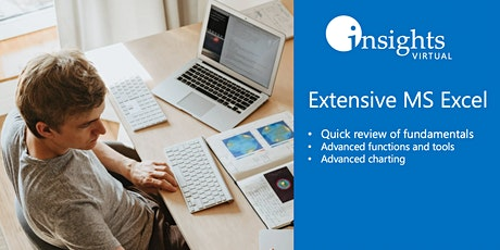 Extensive MS Excel Training tickets