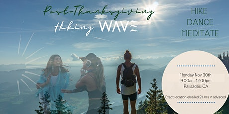 Post-Thanksgiving HikeWave tickets