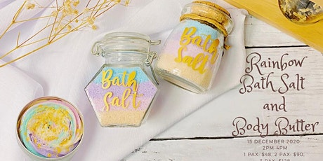 Rainbow Bath Salt & Body Butter tickets