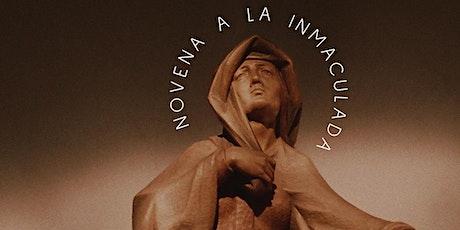 Novena a la Inmaculada tickets