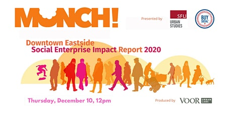 Munch! DTES Social Enterprise Impact 2020 tickets
