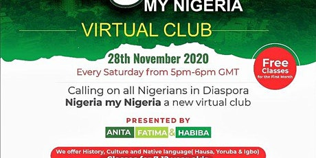 History and language classes for Nigerians in Diaspora tickets