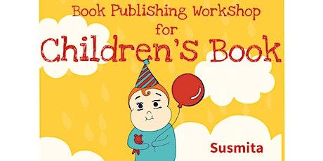 Children's Book Writing and Publishing Workshop - Orange tickets