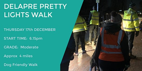 DELAPRE PRETTY LIGHTS WALK | 4 MILES | MODERATE | NORTHANTS tickets