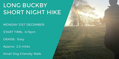 LONG BUCKBY EVENING WALK | 2.5 MILES | EASY | NORTHANTS tickets