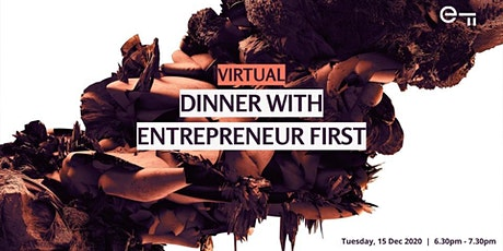 Virtual Dinner & AMA with EF Singapore (Dec 2020) tickets