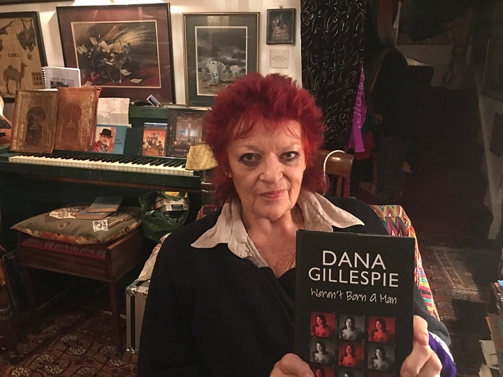 Globetrotting with Gillespie - Featuring Dana Gillespie - ONLINE TICKET image