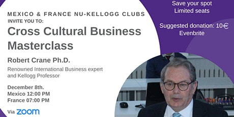 Cross Cultural Business Masterclass tickets