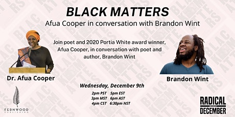 Afua Cooper in conversation with Brandon Wint tickets