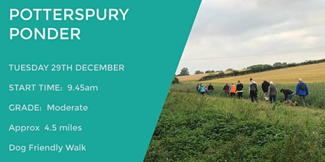 POTTERSPURY PONDER | 4.5 MILES | MODERATE | NORTHANTS tickets