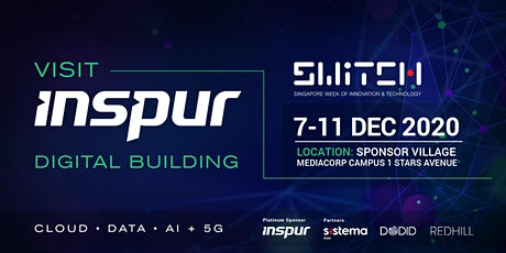 SWITCH 2020 - Inspur Digital Building tickets