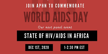 State of HIV/AIDS in Africa tickets