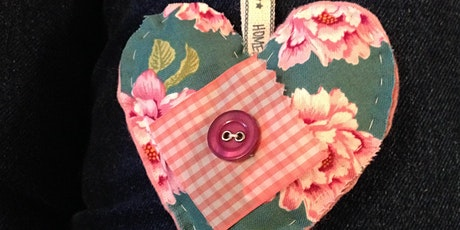 Hand Stitched Heart tickets