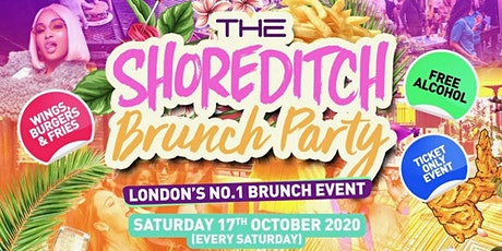 Shoreditch Brunch Party - The Best Saturday Ever tickets