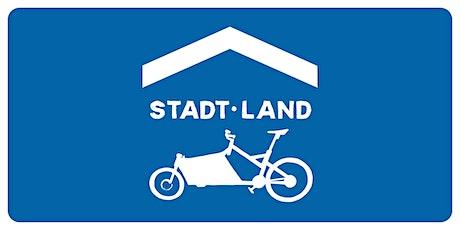Stadt Land Lastenrad - Wo parke ich mein Lastenrad in der Stadt? Tickets