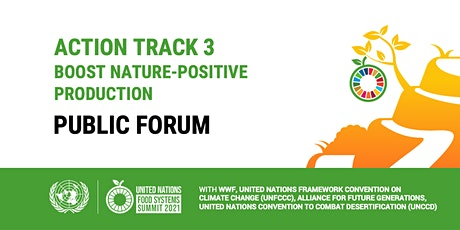 UN Food Systems Summit Action Track 3 - Public Forum tickets