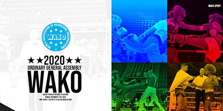 WAKO Ordinary General Assembly tickets