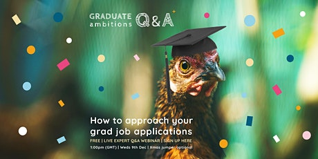 How to approach your grad job applications Tickets